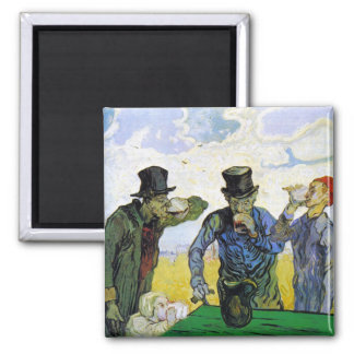 Drinkers by Vincent van Gogh Magnets