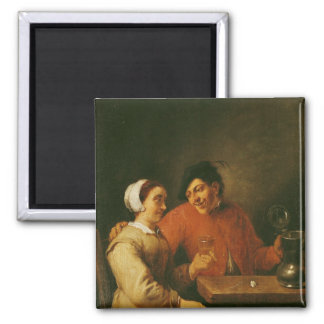 Drinkers Square Magnet