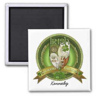 Drinkers & Thinkers - Irish Blessings Square Magnet