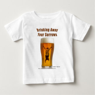 Drinking away your sorrows baby T-Shirt