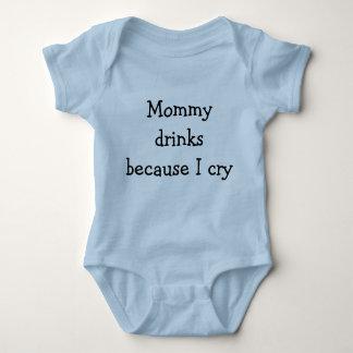 Drinking Baby Bodysuit