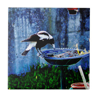 Drinking Bird Tile