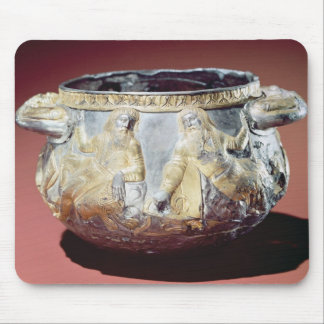 Drinking cup depicting Scythian soldiers Mouse Mat