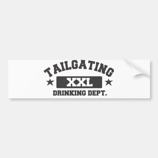 Drinking Dept. Bumper Stickers