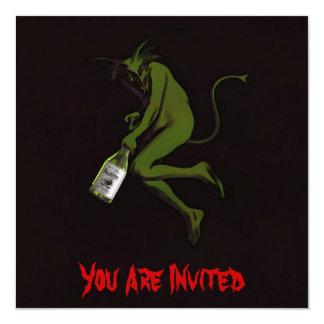 Drinking Devil ~ Invitations