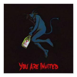 Drinking Devil ~ Invitations / RSVP