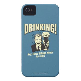 Drinking: Every Village Needs Idiot iPhone 4 Case