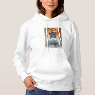 Drinking fountain in fall, Hungary Hoodie