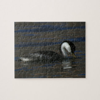 Drinking Grebe Jigsaw Puzzle