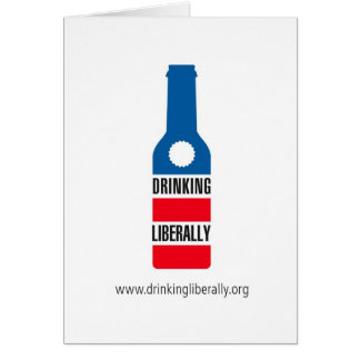 Drinking Liberally Notecard Note Card