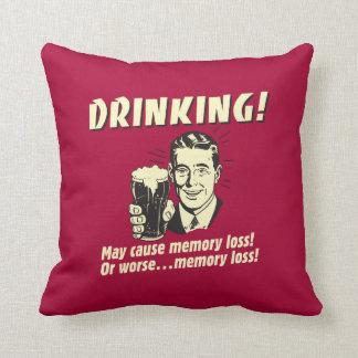 Drinking: May Cause Memory Loss Worse Cushion