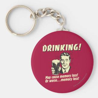 Drinking: May Cause Memory Loss Worse Key Ring