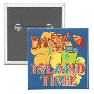 Drinking on Island Time Button