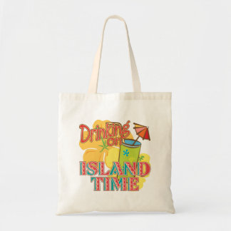 Drinking on Island Time Bags