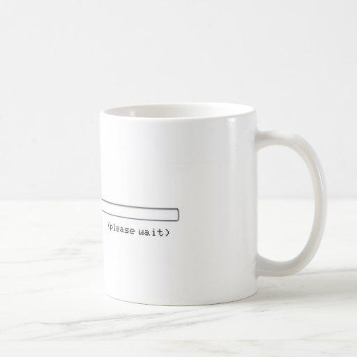 drinking progress bar coffee mugs