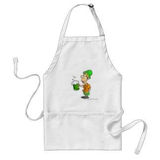 drinking st patricks design standard apron