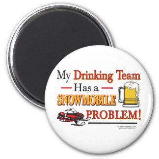 Drinking-Team-Final- 6 Cm Round Magnet
