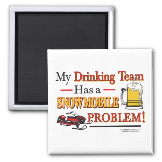 Drinking-Team-Final- Square Magnet