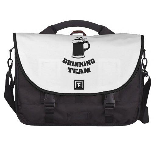 Drinking Team Laptop Messenger Bag
