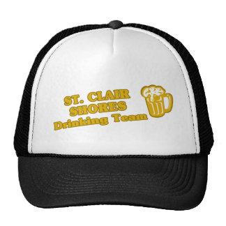 Drinking Team tee shirts Mesh Hats