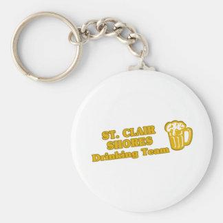 Drinking Team tee shirts Keychain