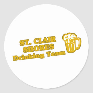 Drinking Team tee shirts Stickers