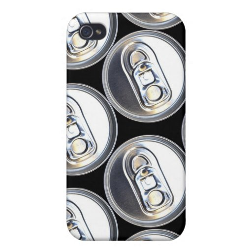 Drinks Can Tops iPhone 4 Cover