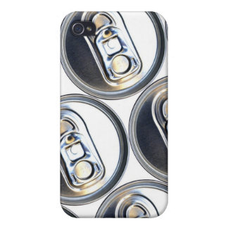 Drinks Can Tops iPhone 4/4S Case