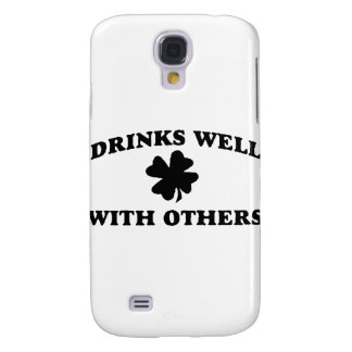 Drinks Well With Others Samsung Galaxy S4 Case