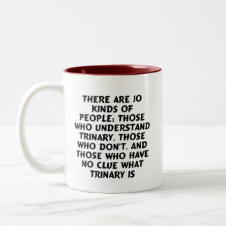 Drinkware) There are 10 kinds...trinary Two-Tone Mug