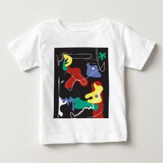 Drip Painting Baby T-Shirt