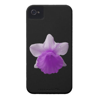 Dripping Daffodil Purple iPhone 4 Case