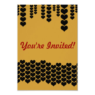Dripping In Love 9 Cm X 13 Cm Invitation Card