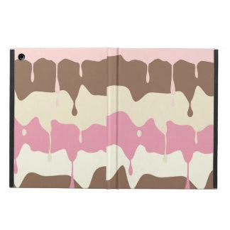 Dripping Neapolitan Ice Cream iPad Air Cover