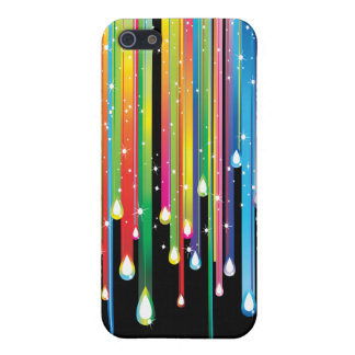 Dripping Rainbow iPhone Case Cover For iPhone 5