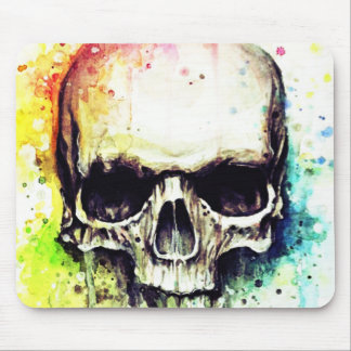 dripping skull pop mouse pad