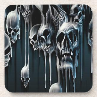 Dripping Skulls Coaster