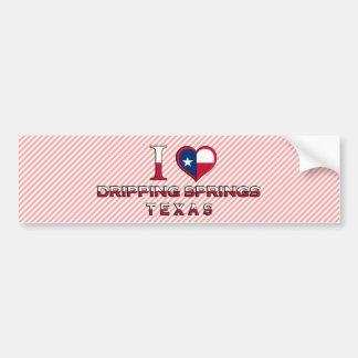 Dripping Springs, Texas Bumper Sticker