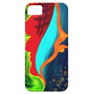 Drippy abstract shapes case for the iPhone 5