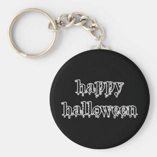 Drippy Blood Happy Halloween Key Chain
