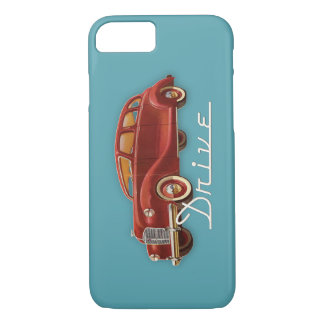 Drive a Classic Car Retro Vintage Automobile iPhone 7 Case