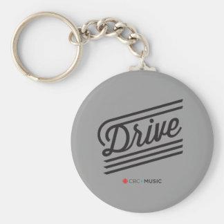 Drive Basic Round Button Key Ring