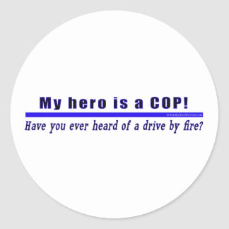 Drive By Fire COP Gift sticker