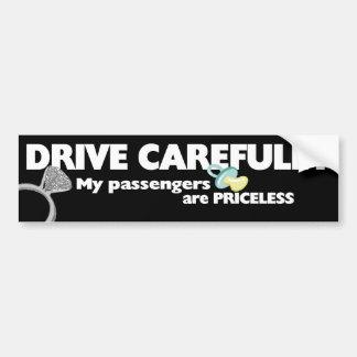 Drive Carefully Bumper Sticker