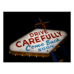 Drive Carefully Poster