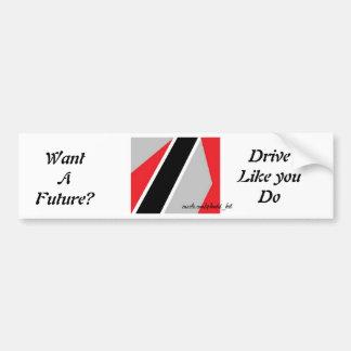 drive for a future bumper stickers