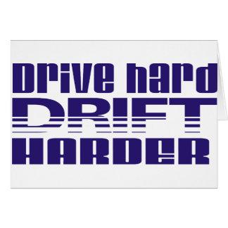 drive hard drift harder card