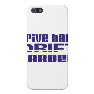 drive hard drift harder iPhone 5/5S covers