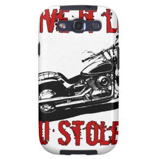 Drive it like you stole it - Bike/Chopper Samsung Galaxy S3 Cover