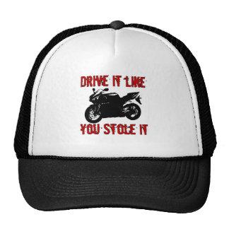 Drive it like you stole it - Japanese Bike Cap